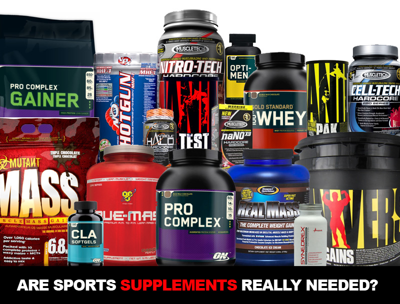 Are Sports Supplements Really Needed?