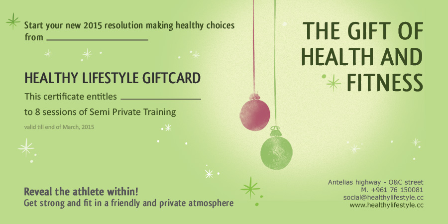 the personal training gift of health fitness
